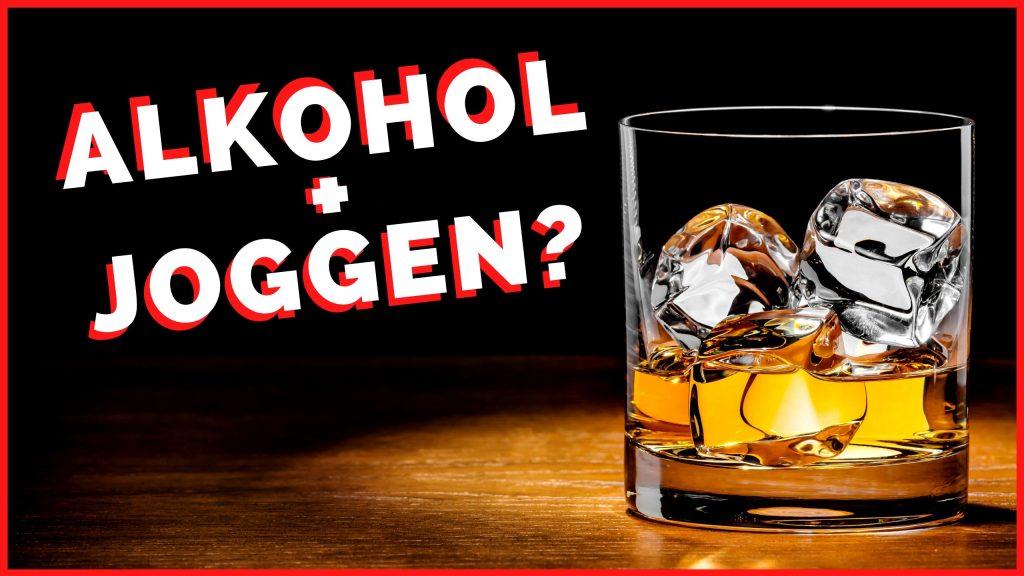 Joggen für Anfänger - Alkohol und Joggen