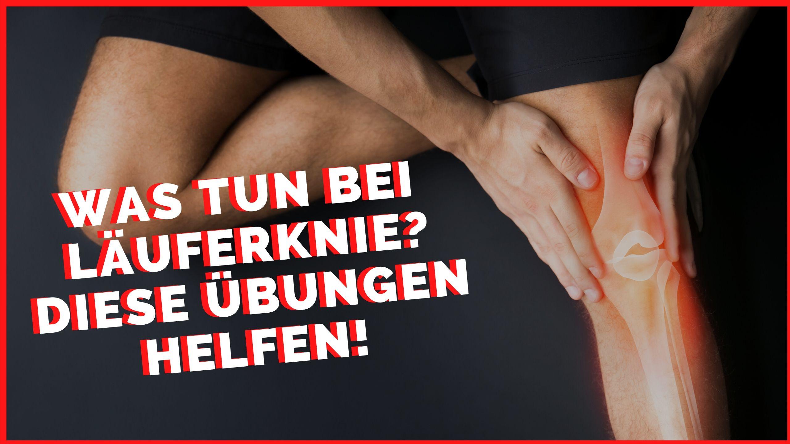 Läuferknie vorbeugen Wie vermeide ich das Läuferknie