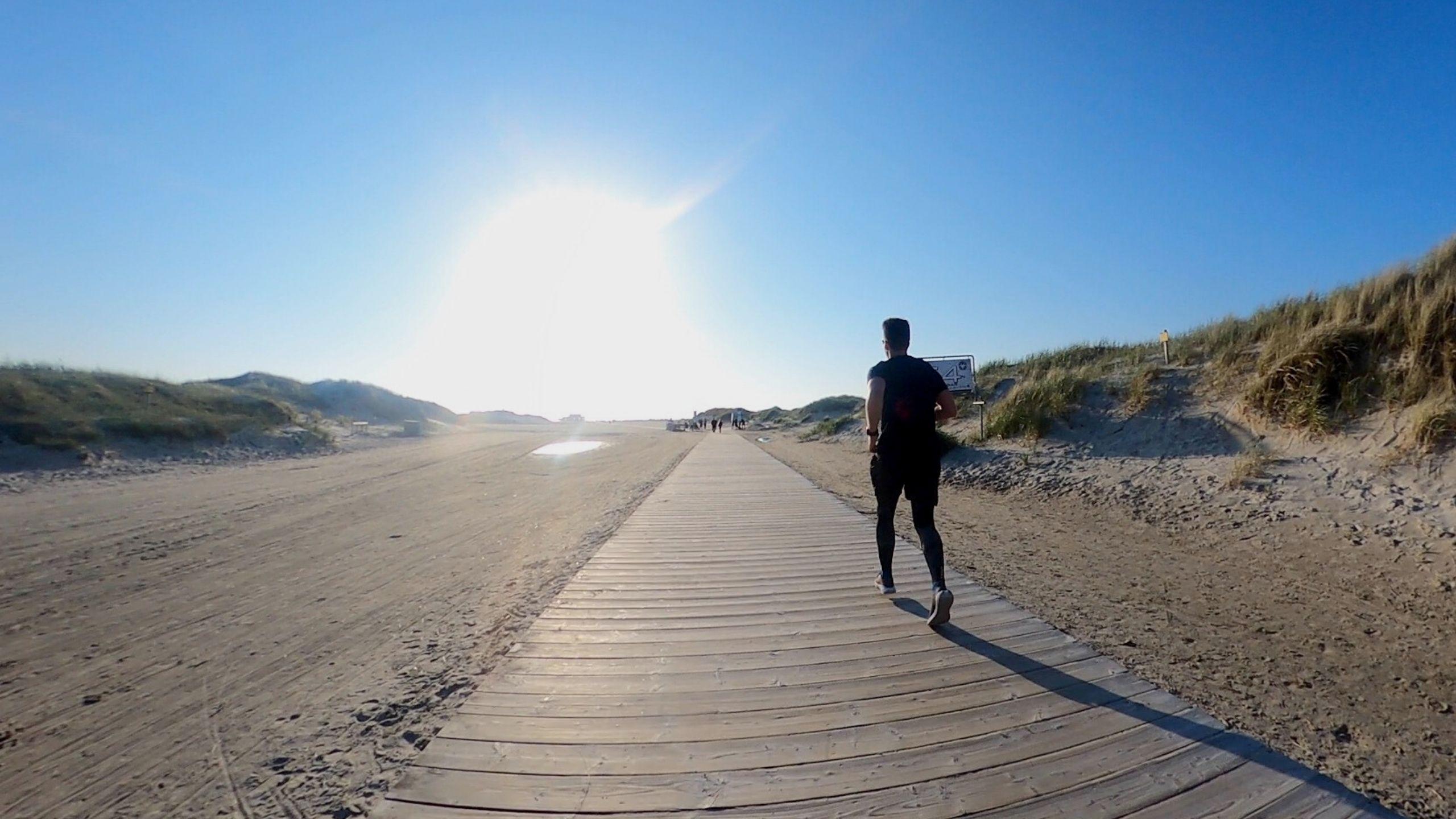 Ultramarathon zwischen den meeren